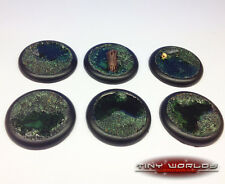 40mm Round Lipped Swamp Water Effects Scenic Resin Bases Warmachine Malifaux