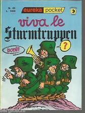 EUREKA POCKET # 45 -BONVI-VIVA LE STURMTRUPPEN-1a EDIZIONE SETTEMBRE 1977-EDICOL