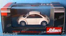 VW VOLKSWAGEN NEW BEETLE SCHUCO 04533 1/43 WHITE 3 DOORS 3 PORTES BLANCHE BLANC