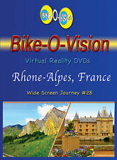 "Bike-O-Vision Cycling Video, ""Rhone-Alpes, France""  Widescreen"