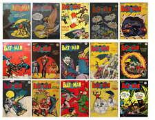 VINTAGE BATMAN COMIC  PHOTO-FRIDGE MAGNET  16 TO 30