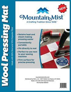 Mountain Mist Wool Pressing Mat Perfect Block Pressing Mat Quilting Patchwork