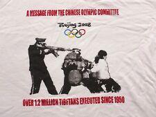 James Cauty - Beijing Olympics 2008  SCARCE ART T-SHIRT SIZE LARGE