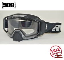 509 SINISTER XL6 SNOWMOBILE GOGGLE NIGHTVISION CLEAR LENS NEW SNOW SKI BOARD