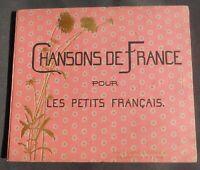 ENFANTINA. Chansons de France pour les petits Français. BOUTET de MONVEL. 1884