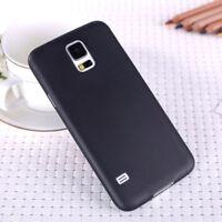 Soft Black Matte Gel TPU Case Cover For Samsung Galaxy S5 mini, G800F