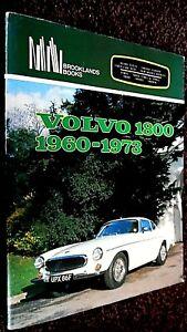 VOLVO 1800 1960-1973 (BROOKLANDS BOOKS) 1800S P1800 P1800S 1800ES 1800ESC 1ST HB