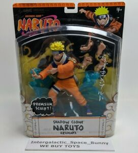 Mattel Premium Sculpt Shadow Clone Naruto Action Figure MOC