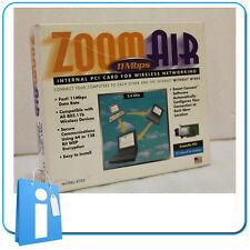 Tarjeta interna PCI  PCMCIA con WIFI 11 Mb/s ZOOM Vintage