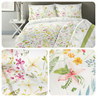 Dreams & Drapes AIMEE Floral Duvet Quilt Cover Bedding Set Soft Double All Sizes