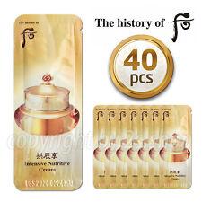 [The History of Whoo] Gongjinhyang Qi & Jin Cream 1ml x 40pcs Korea Cosmetics