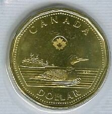 2013 Loonie 1 One Dollar '13 Canada-Canadian Coin UNC Loon NEW MICRO LASER MARK