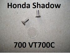 84-87 Honda Shadow 700 VT700C Brake Clutch Master Cylinder Sight Glass Lens Kit