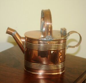 COPPER WATERING CAN MARKED 2