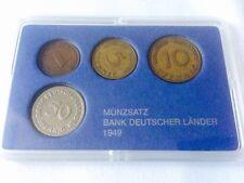 Münzsatz DM Bank BDL Bank Deutscher Länder Münzen 1949