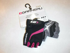 New Louis Garneau RX-V Biogel Small Magenta Women's Short Finger Cycling Glove