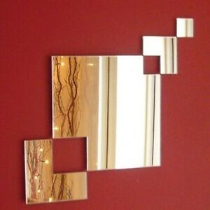 Square Chain Mirror