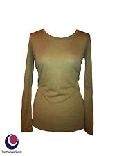 WHITE STUFF Long Sleeve Scoop Neck Hip Length Women's Tops & Shirts