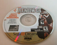 Tom Clancy's Rainbow Six (Sega Dreamcast, 2000) Good Shape