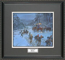 Mort Kunstler THE WINDS OF WINTER Framed Print Civil War Wall Art Gift