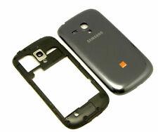Original Samsung Galaxy S3 Mini i8190 Mittelrahmen Akkudeckel Gehäuse Cover Grau