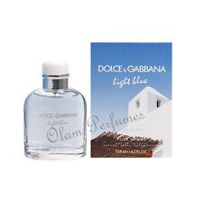 Dolce & Gabbana Light Blue Living Stromboli For Men Edt. Spray 4.2oz 125ml * New