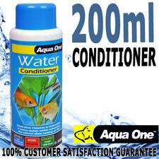 Aqua One Water Conditioner Aqua Aquarium Fish Tank Safe Chlorine Remover 200ml