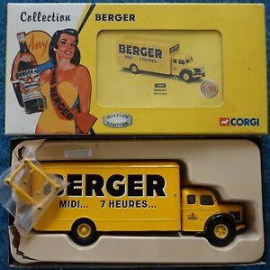CORGI HERITAGE - BERLIET GLR FOURGON BERGER - ref. 73007 - Neuf/Boite