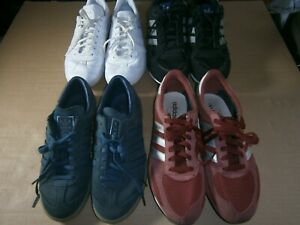 Job Lot of 4 adidas Trainers, ZX750 UK Size 10 and 3 Others