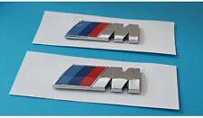 BMW ///M Performance Autocollants pour AILES Chrome Logo  4.5 x 1.5 cm