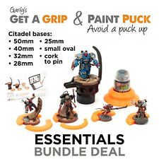 Garfy's Essentials Deal Paint Puck & Get a Grip Pro Painting Handle Model Holder