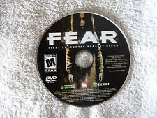 Fear: The First Encounter (PC DVD ROM) XP/x64/2000