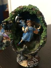 """Franklin Mint Collectible Egg The Wizard of Oz """"Winged Monkeys Mean Business"""""""