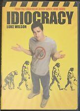 IDIOCRACY (DVD, 2006) Luke Wilson Dax Shepard
