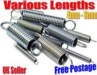 Expansion Springs Tension Spring Various Sizes Choose Quantity 4mm - 8mm