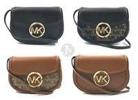 Michael Kors Fulton Signature Leather Small Belt Bag Crossbody Waist Bag Handbag