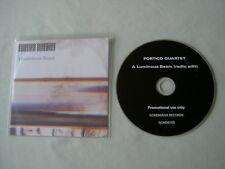 PORTICO QUARTET A Luminous Beam (Radio Edit) promo CD single
