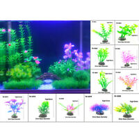 Artificial Underwater Plant Aquarium Fish Tank Decoration Water Grass Pl a_JBLY
