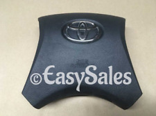2008-2013 TOYOTA HIGHLANDER DRIVER SIDE WHEEL AIRBAG BLACK 08 09 10 11 12 13