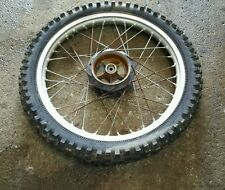 1980 Suzuki RS250 21 x 1.60 Aluminum Rim front Wheel drum hub RM250 RS