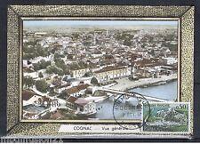 FDC CP 1°JOUR**COGNAC...OBL.16.COGNAC-1961**TIMBRE Y/T.1314
