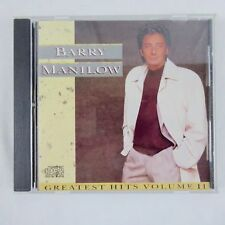 Barry Manilow, Greatest Hits Volume 2, CD 1989 Arista Records