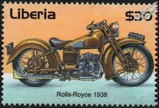 "1938 BROUGH SUPERIOR DREAM (""Rolls Royce of Motorcycles"") Motorbike Stamp"