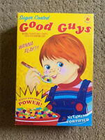 Childs Play Good Guys Chucky Halloween Collectible Prop Decoration Cereal Box