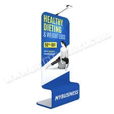 Trade Show Pop Up Display Booth Formulate Tower Information Signage + Printing