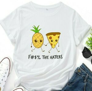 Pineapple Pizza T shirt / Funny Pineapple / Funny Pizza / %100 Cotton