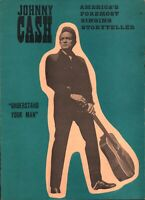 JOHNNY CASH 1964 TOUR OLYMPIA STADIUM CONCERT PROGRAM BOOK / BOOKLET / NM 2 MINT