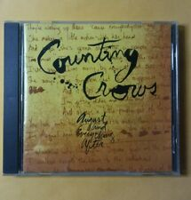 Counting Crows August and Everything After CD 1993 Alternative Rock Mr. Jones