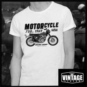 Honda CB750 1969 inspired vintage classic motorcycle bike shirt tshirt