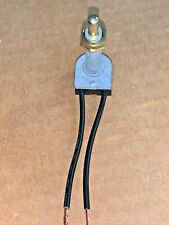 Brass Push Button Switch 6a 125v 1 18 Thread 2 12 Wire Leads 968 42